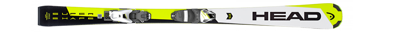 Supershape SLR 2 White/Neon/Yellow + SLR 7.5 AC (130-150)
